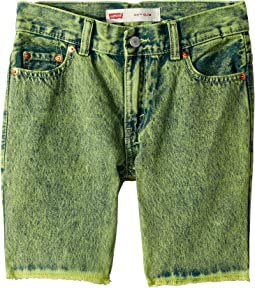 511 Slim Fit Overdyed Color Denim Shorts (Big Kids)