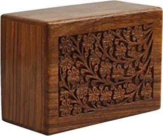 wooden box urns for pets