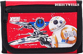 Disney Star Wars Robot Character Authentic Licensed Trifold Wallet