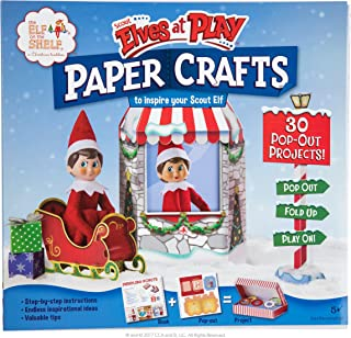 Elf on The Shelf Scout Elves at Play Paper Crafts
