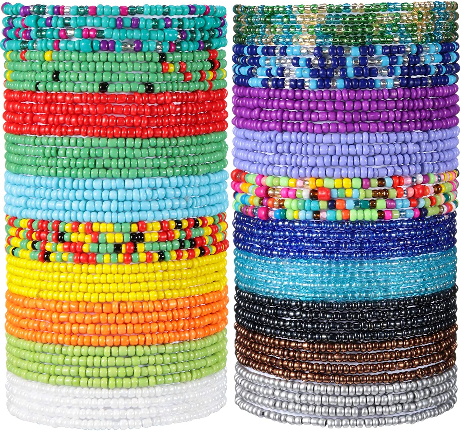 20 Pieces Waist Beads African Belly Body Chain Special Campaign outlet Jewelry Bead for