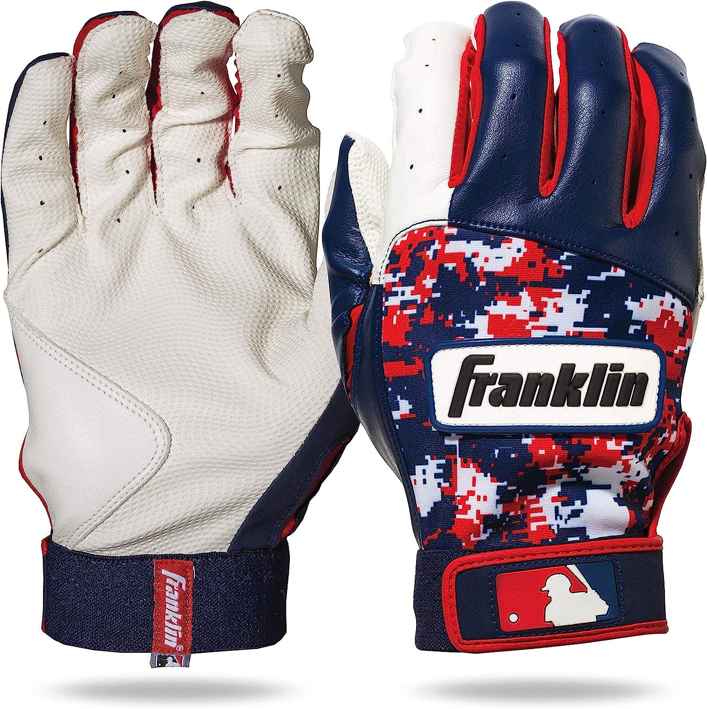 Franklin Sports MLB Mail order Youth Batting Gloves Baseball Fashionable Digitek - Kids