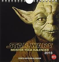 Star Wars - Meister Yoda Postkartenkalender 2019
