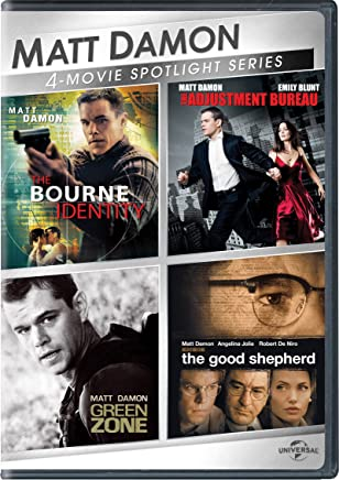 Matt Damon 4-Movie Spotlight Series [Importado]