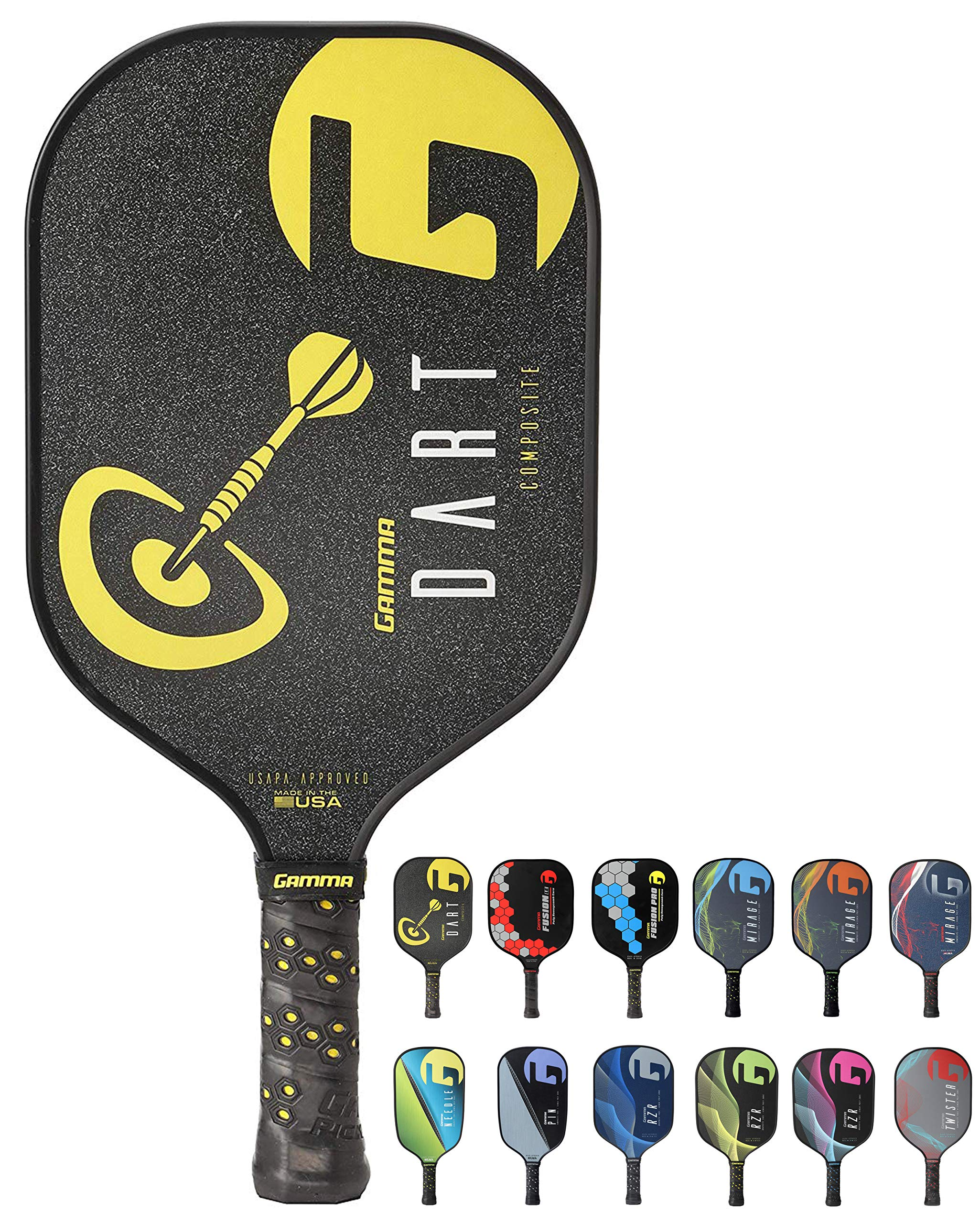 Gamma Poly Core Pickleball Paddle: Pickle Ball Paddles -5S21