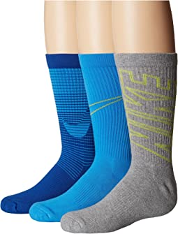 Nike Kids - Performance Cushion 3-Pair Socks (Little Kid/Big Kid)