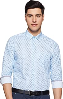 Diverse Men's Printed Slim fit Formal Shirt