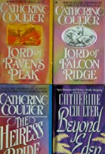 FOUR Catherine Coulter Books (The Heiress Bride; Lord of Raven's Peak; Beyond Eden; Lord of Falcon Ridge) (FOUR CATHERINE COULTER PAPERBACKS)