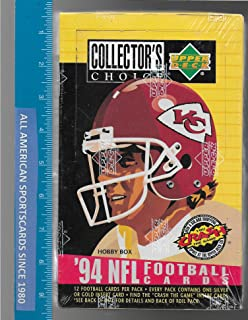 1994 UPPER DECK COLLECTOR'S CHOICE FOOTBALL FACTORY SEALED BOX MARSHALL FAULK ROOKIE