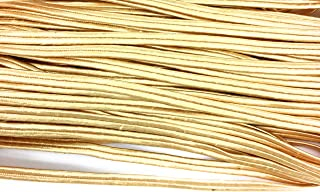 Beige Braid Soutache Flat Cord Beading, 3mm 1/8'' Sewing, Middy Braid Quilting Trimming String 10 Yards