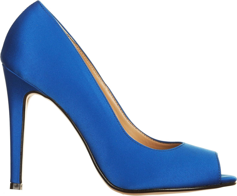 Vialeschuhe , Damen Pumps Blau Blau 35 EU