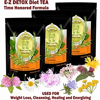 Detox Tea for Weight Loss and Belly Fat - Appetite Control - Body Cleanse – Detox 3 Pack