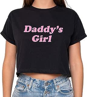 Minga London Daddy Girl Crop Top Fun Women's Tumblr Cute Kawaii