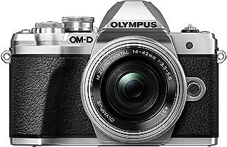 Olympus OM-D E-M10 Mark III kit con cámara de sistema Micro Cuatro Tercios y objetivo M.Zuiko 14 - 42 mm EZ plata