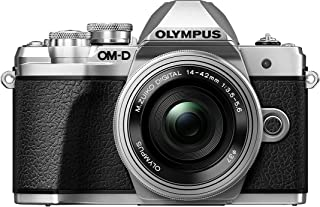Olympus OM-D E-M10 Mark III Kit Cámara de Sistema Micro Cuatro Tercios (16 MP Estabilizador de Imagen de 5 Ejes Visor Electrónico) + Objetivo M.Zuiko 14-42mm EZ plata