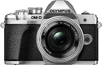Olympus OM-D E-M10 Mark III Kit, Cámara de Sistema Micro Cuatro Tercios (16 MP, Estabilizador de Imagen de 5 Ejes, Visor Electrónico) + Objetivo M.Zuiko 14-42mm EZ, plata