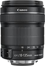 Canon EF-S 18-135mm f/3.5-5.6 is STM Lens in White Box, with 1-Year Canon USA Warranty