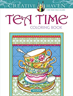 Creative Haven Teatime Coloring Book