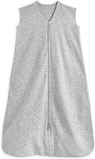 HALO® Sleep SleepSack® Sleeping Bag, 0.5 TOG 100% Cotton Heather Grey Sleeping Bag, Newborn Baby Sleeping Bag, Unisex for ...