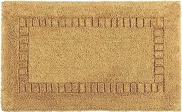 Kassatex Silk Bath Rug - Gold - 20 in. x 32 in.