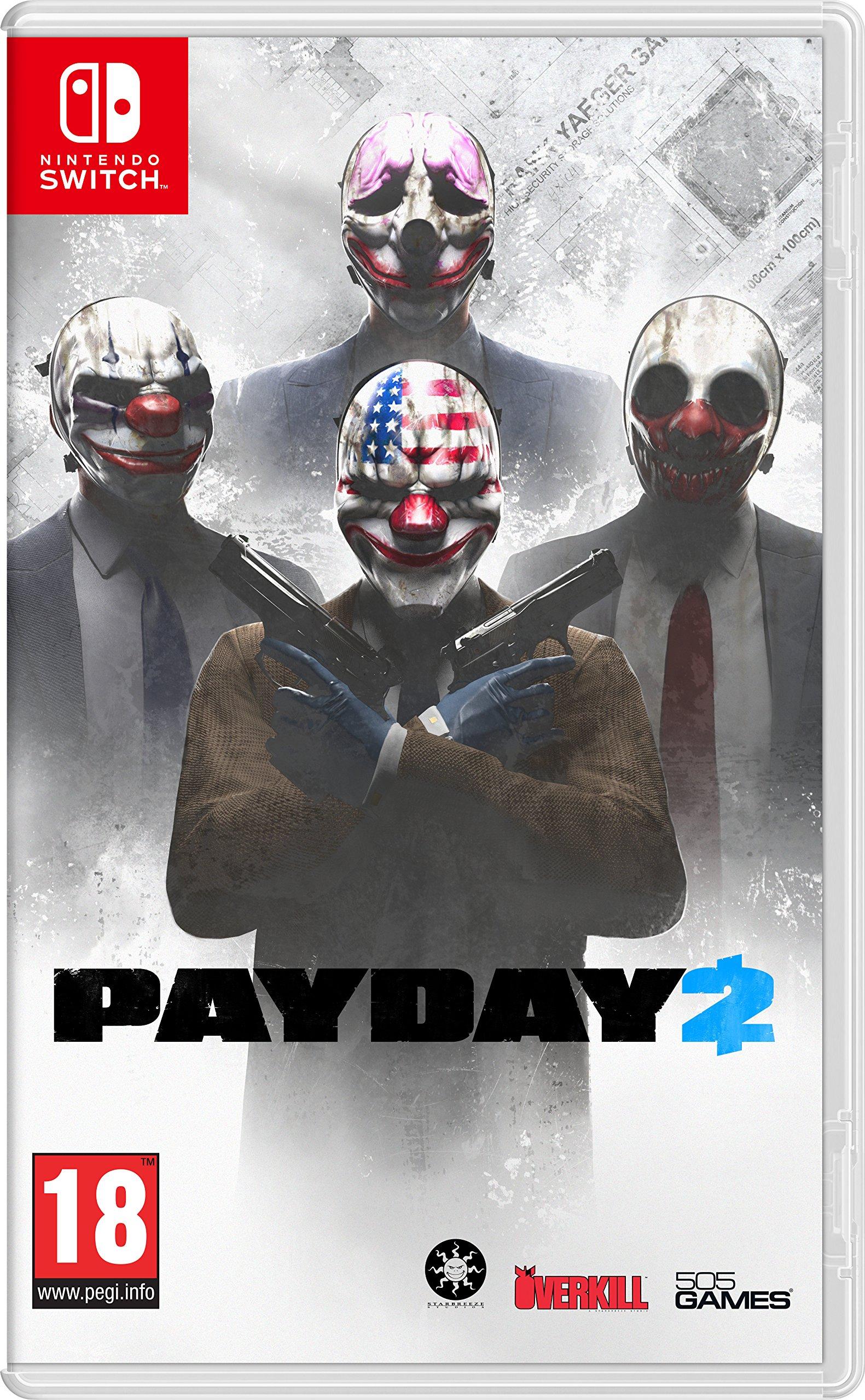 Pay Day 2 - Nintendo Switch [Importación italiana]: Amazon.es: Videojuegos
