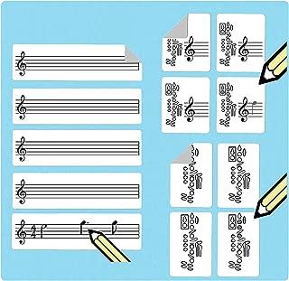 ukulele e mandolino Chord e tablature diteggiatura adesivi 250/pezzi Adesivi per tablatura e diteggiatura per basso