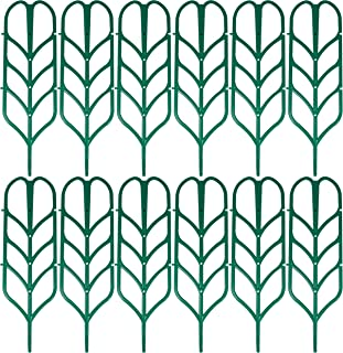 Upper Midland Products 12 Garden Trellis Climbing Plant Support Stake for Mini Indoor Plants Pots