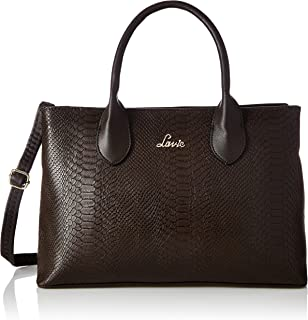 Lavie Womens Zipper Closure Satchel Handbag