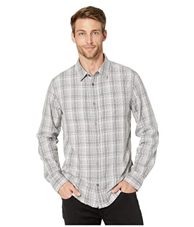 Prana Holton Long Sleeve Shirt (Silver Spray) Men
