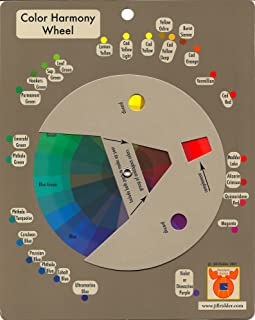 Color Harmony Wheel: Professional Tool for Artists, Designers, and Quilters