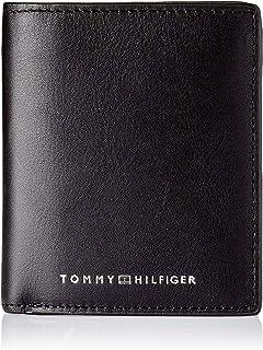 Tommy Hilfiger TH Metro, Accesorio Billetera de Viaje para Hombre, Negro, Talla única