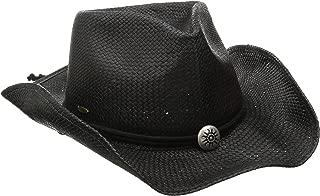 Dorfman Pacific Women's Shapeable Toyo Western Hat