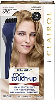 Clairol Root Touch-Up Permanent Hair Color Creme, 6.5G Lightest Golden Brown, 1 Count
