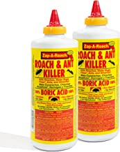 Zap-A-Roach Boric Acid Roach and Ant Killer – Odorless and Non-Staining – 1 LB. – 2 Pack