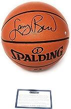 Larry Bird Boston Celtics Signed Autograph NBA Game Basketball Steiner Sports Certified