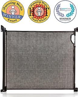 Marr/ón Puerta de Seguridad para Ni/ños Mascotas No Requiere Perforaci/ón EBTOOLS Barrera de Seguridad para Puertas Pasillo Escalera 85-94 cm