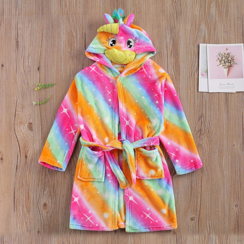 Unisex Baby Plush Bathrobe Plain Kimono Gown Newborn Toddler Girls Boys Towel Robe Nightwear Clothes