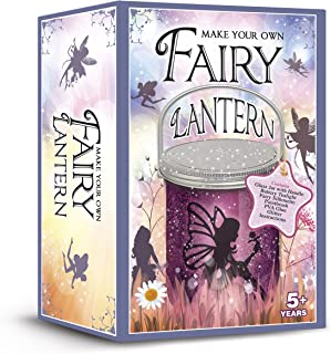 Demand Media Make Your Own Fairy Lantern Sparkles by Day & Glows at Night Glass Jar Included