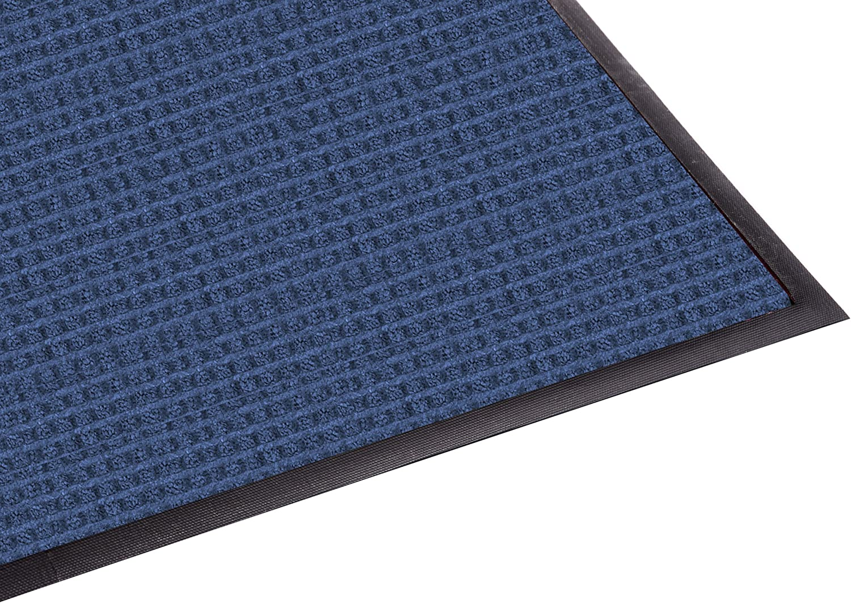 Guardian WaterGuard Indoor Outdoor Wiper Scraper Floor Mat, Rubber Nylon, 4'x6', bluee