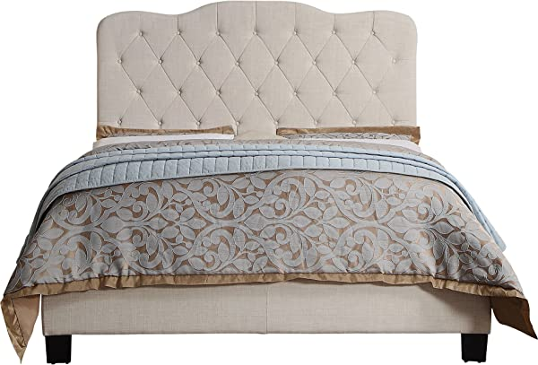 Rosevera Elian Upholstered Panel Platform Bed