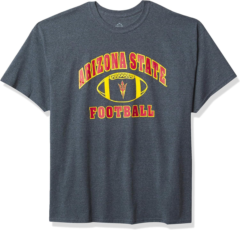 Elite Fan Shop NCAA Max 83% OFF Mens T-Shirt Heather overseas Dark Football