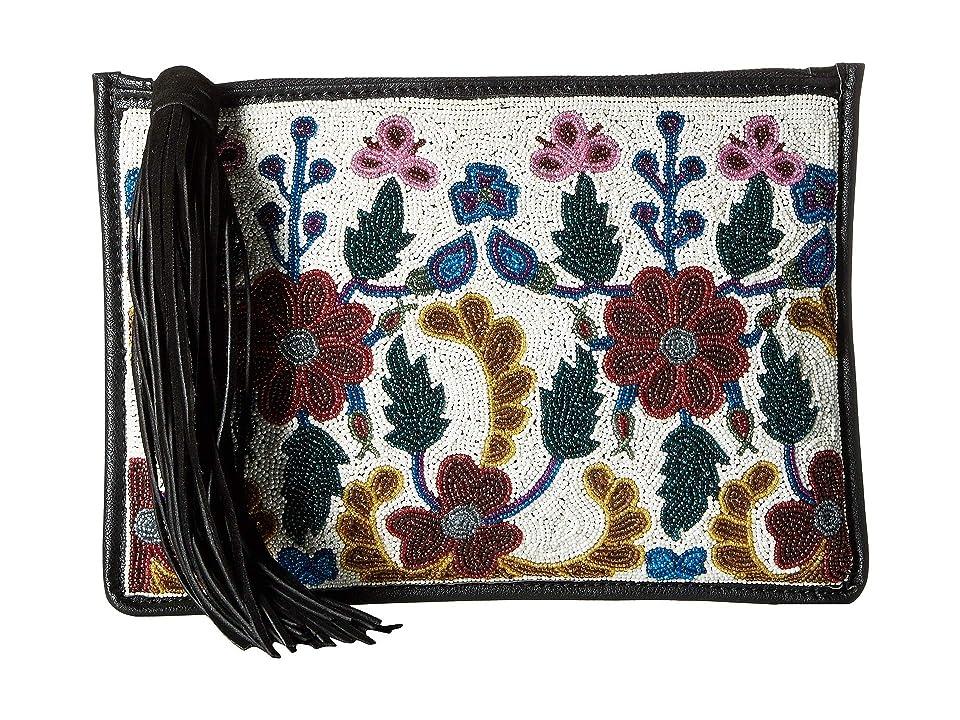 Sam Edelman Zora Convert Clutch (White Multi Floral) Clutch Handbags