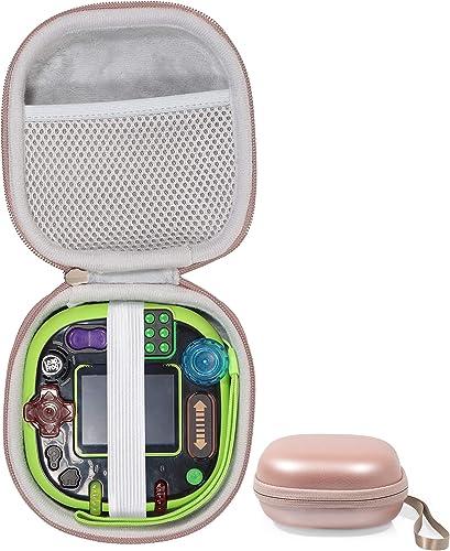 popular getgear outlet online sale Tailor Made Protective online sale case for Leapfrog Rockit Twist Handheld Learning Game System, mesh Pocket for Cord and Other Accessories, Finger Strap (Pink) outlet online sale