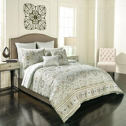 Vue Signature Valencia 7-Piece Comforter Set Queen Sage