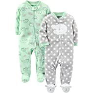 Baby 2-Pack Fleece Footed Sleep and Play