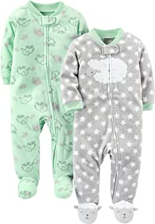 Simple Joys by Carter's Baby 2-Pack Fleece Footed Sleep...