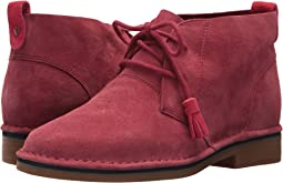 Dark Red Suede 1