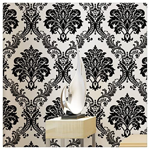 Modern Wallpaper Black Amazon Com