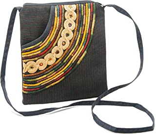 Crossbody Purse - Handmade in Guatemala (Patterns And Colors May Vary Slightly)