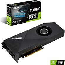 ASUS Turbo GeForce RTX 2060 6GB GDDR6 with The All-New NVIDIA Turing GPU Architecture TURBO-RTX2060-6G